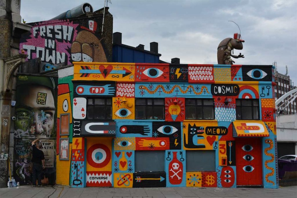 Tempat Terbaik Untuk Menemukan Seni Jalanan London